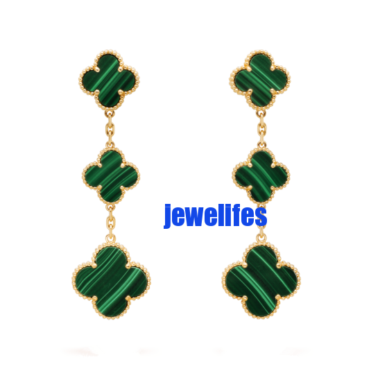Magic Alhambra earrings, 3 motifs