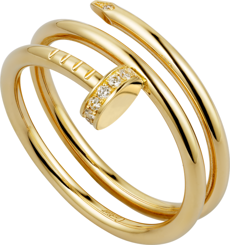 Cartier Juste un Clou Rings,Diamonds | Top Brand 18K Gold ...