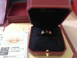 Top quality Cartier gold love ring