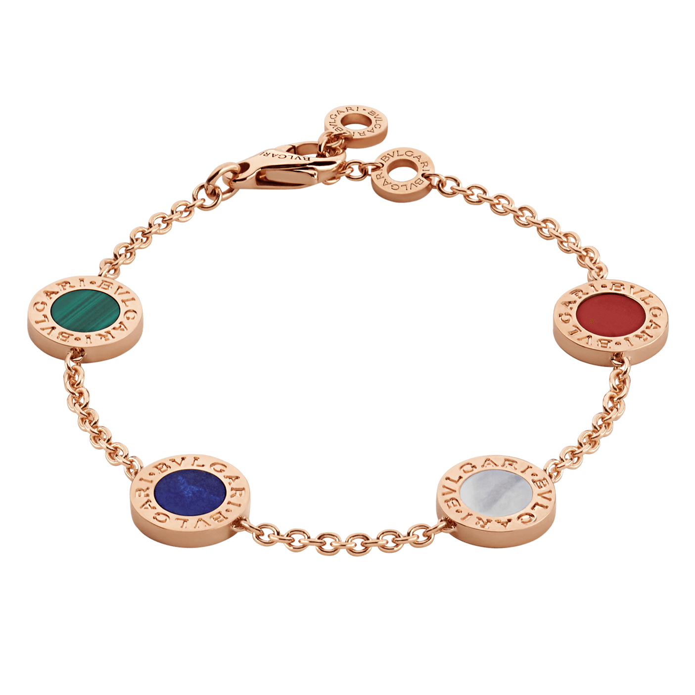 Fake Bulgari Bracelet 18k rose gold