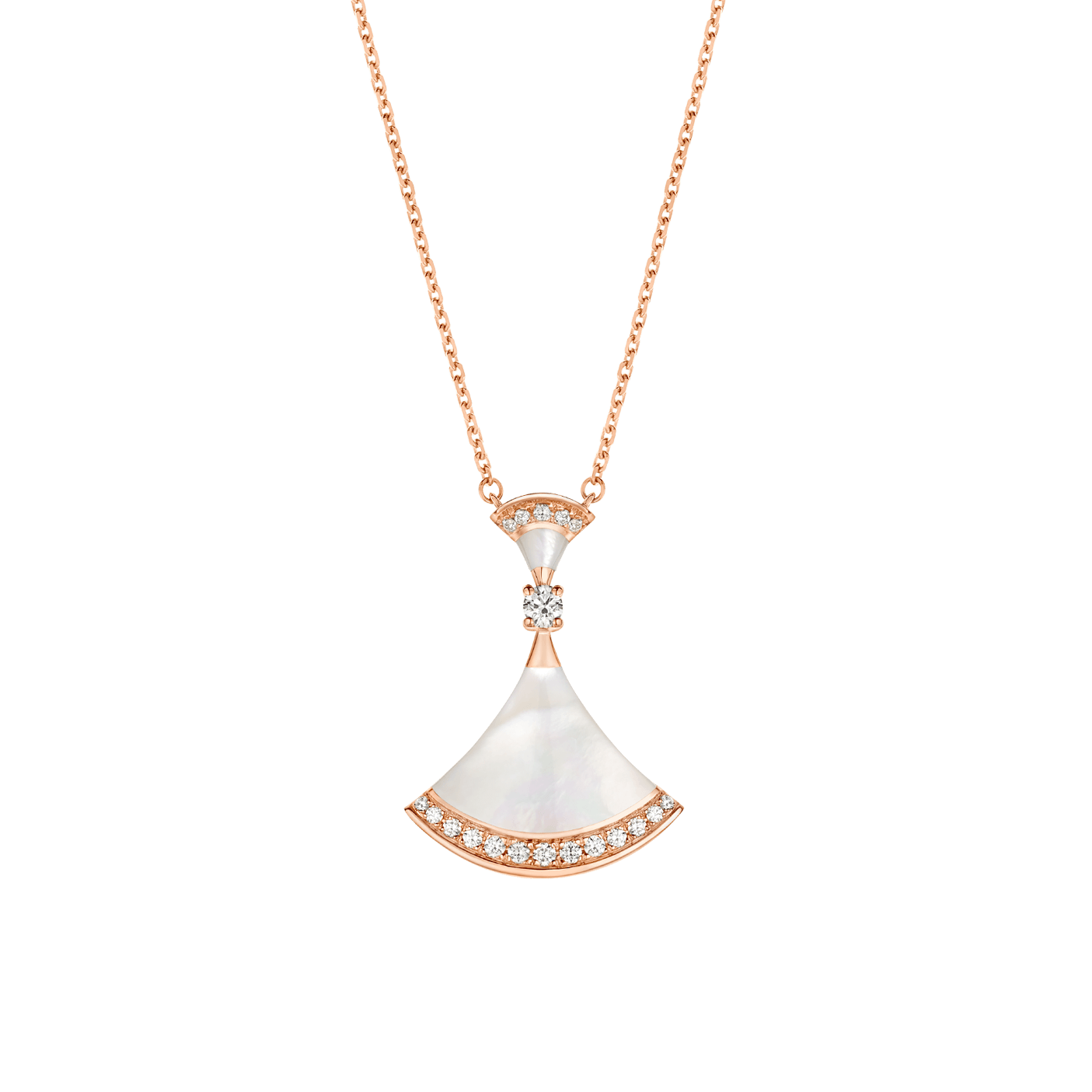 fake bulgari diva necklace MOP