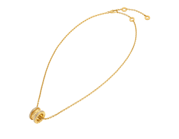 B.zero1 Rock necklace with 18 kt yellow gold pendant replica